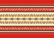 Bulgarian seamless decorative traditional national Royalty Free Stock Photos