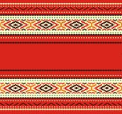 Bulgarian seamless decorative traditional national Stock Photos
