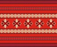Bulgarian seamless decorative traditional national Royalty Free Stock Photo