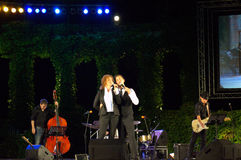 Bulgarian singers live concert Stock Photos