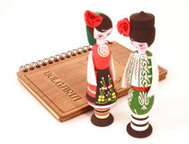 Bulgarian souvenir dolls Stock Photo