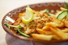 Bulgarian specialty food Royalty Free Stock Photo