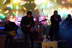 Bulgarian supergroup The Legends live concert Stock Photos