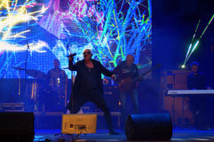Bulgarian supergroup The Legends live concert Royalty Free Stock Photos