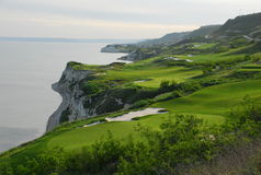 Bulgarian Thracian cliffs Royalty Free Stock Images