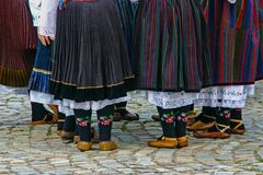 Bulgarian traditional clothing Royalty Free Stock Photography