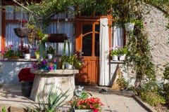 Bulgarian traditional farmyard Royalty Free Stock Photography