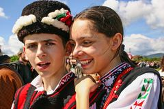 Bulgarian traditional festival Stock Image