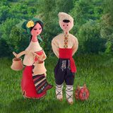 bulgarian traditionellt royaltyfri fotografi