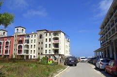 Bulgarian vacation complex,Nestinarka beach Stock Photo