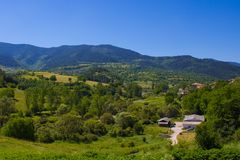 Bulgarian valley Stock Image