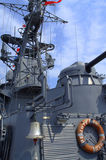 Bulgarian warship Stock Image