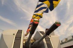 Bulgarian warship gun Royalty Free Stock Photography