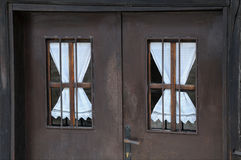 Bulgarian Windows Royalty Free Stock Photo