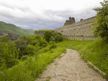 Bulgarian wonders - phenomenon of Belogradchik rocks Stock Image