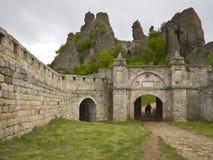 Bulgarian wonders - phenomenon of Belogradchik rocks Royalty Free Stock Images