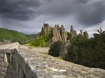 Bulgarian wonders-phenomenon of Belogradchik rocks Stock Photography