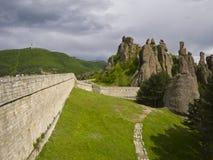 Bulgarian wonders-phenomenon of Belogradchik rocks Royalty Free Stock Images