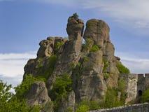 Bulgarian wonders-phenomenon of Belogradchik rocks Royalty Free Stock Photos