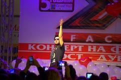 Bulgarian X-factor winner Royalty Free Stock Photography