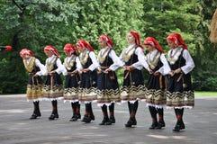 bulgarie舞蹈演员女性lulin 库存照片