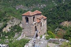 Bulgarien Asen Fortress Royaltyfri Fotografi