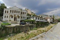 Bulgarien. Die Stadt von Melnik Lizenzfreie Stockfotos