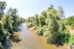 Bulgarien: Fluss Cherni Osam Lizenzfreies Stockfoto