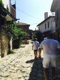 Bulgarien Nessebar arkivbilder