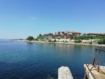 Bulgarien-Nessebar, Reise, Sunny Day, warmer Tag stockfoto