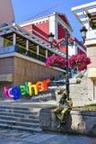 Bulgarien Plovdiv som är i stadens centrum royaltyfri bild