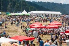 bulgarien Rozhen 2015 Stockfotos