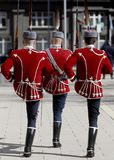 Bulgarien Sofia Guards der Ehre Lizenzfreie Stockbilder