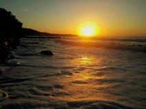 Bulgarien-Sonnenaufgang stockbild