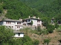 Bulgarien-zentrales Rhodopi mn.village Kosovo, stockfotografie