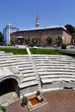 Bulgarije, Plovdiv, de stad in stock afbeelding