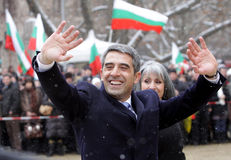 Bulgarije President Election Plevneliev Royalty-vrije Stock Fotografie
