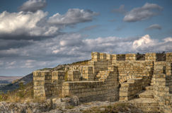 Bulgarije, Provadia, middeleeuwse vesting Stock Foto