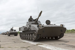Bulgarische ArmeePanzer Lizenzfreies Stockfoto