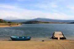 Bulgarische Landschaft während des Falles Lizenzfreie Stockbilder