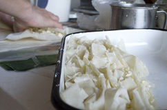 Bulgarische Torte Lizenzfreies Stockbild