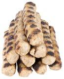 Bulgarische traditionelle Fleischklöschen nannten Kebapche Lizenzfreie Stockfotografie