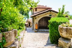 Bulgarische Weinkellerei Lizenzfreie Stockfotos