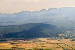 Bulgarischer blauer Berg Lizenzfreies Stockbild