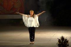 Bulgarischer Sänger Margarita Hranova Lizenzfreie Stockbilder