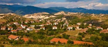 Bulgarisches Dorf stockfotografie