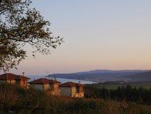 Bulgarisches Dorf Stockfoto