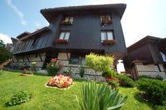 Bulgarisches Haus in Nessebar Lizenzfreies Stockbild
