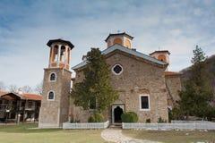 Bulgarisches Kloster Stockbild