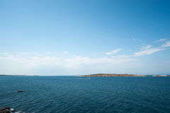 Bulgarisk ö i Blacket Sea Royaltyfria Foton